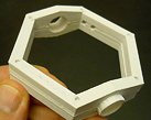 Keck Telescope Elevation Ring STL file