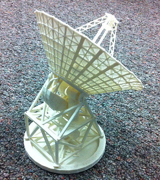 Scale Model of DSN Antenna