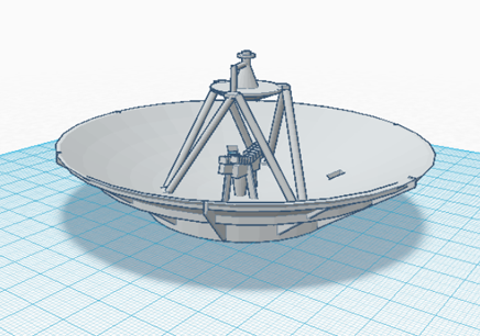 Cassini High-Gain Antenna Assembly