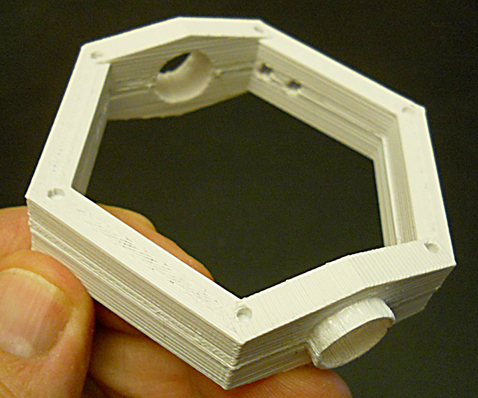 Keck Telescope Elevation Ring