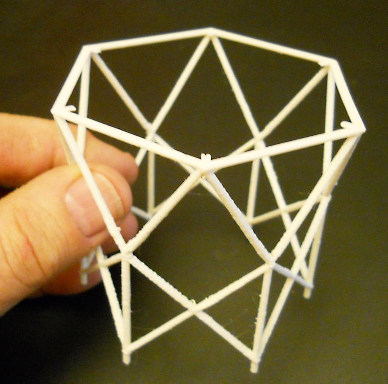 3D-printed Voyager MAG Boom
